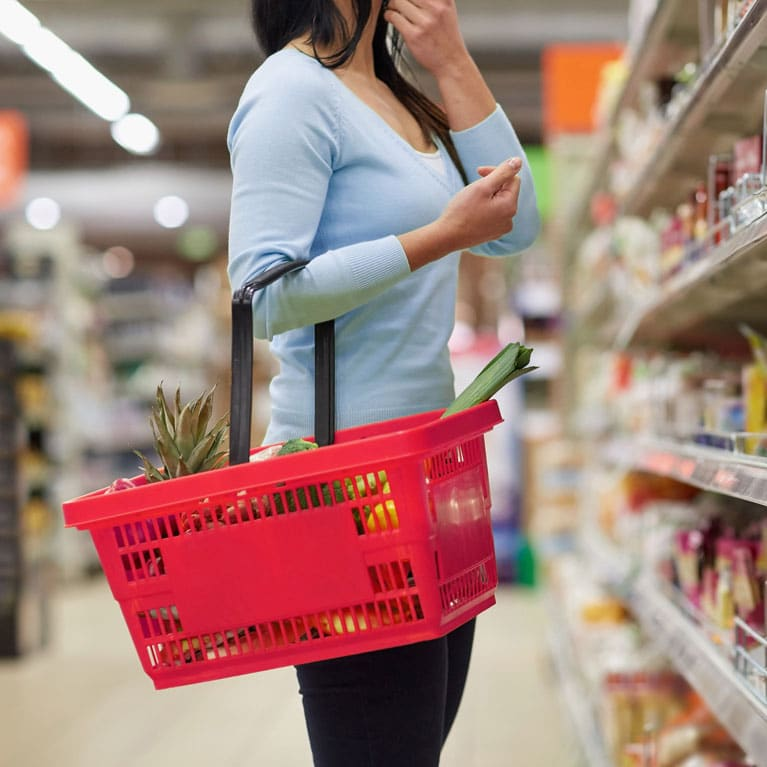 Commercial Sector Image | Consumer Grocery Shopping