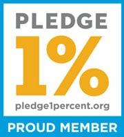 Proud Member Pledge 1%