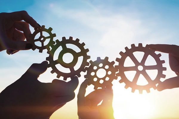 Managed Services Image | Gears Turning